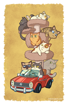 The Cat-illac by TheSteveYurko