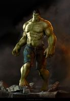 HULK concept by CarlosDattoliArt