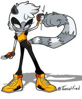 Tangle the Lemur by ToonistFred