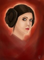 Princess Leia by PsychedelicHeroin