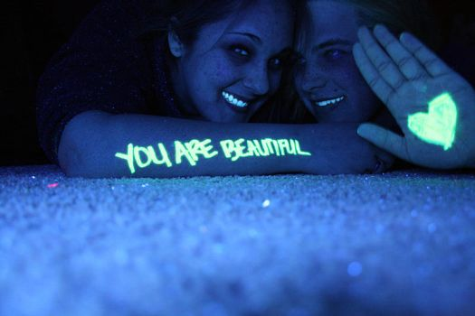 You Are Beautiful by lucasinphotoshop