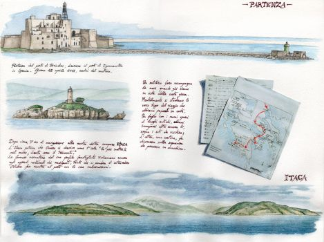 Carnet journey to Greece - Tav 01 - by Panaiotis