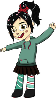 Vanellope the Adorbs by converselover24