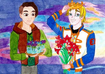 Ever After High - February flowers by Wladlena