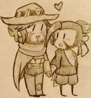 Smol McHanzo by ultrasmash14