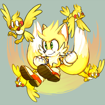 Super Tails by 8Xenon8