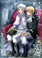 APH Gil and Lud by MaryIL
