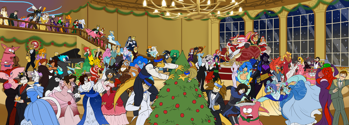ULTIMATE CHRISTMAS/NEW YEARS BASH 2014 by Toughset