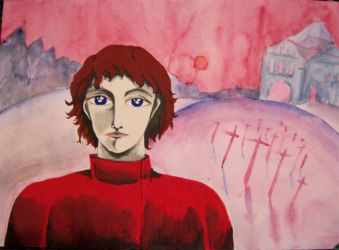 red guy by Kumin