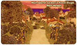 MMD Main Island: Ocean's Road BETA Stage Download by Adrianbrazt10