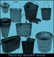 Pail brushes by miss69-stock