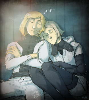 SSSS - afternoon nap by kindlyanni