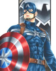 The Winter Soldier: Captain America by smlshin
