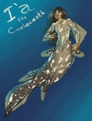 I'a the Coelacanth by Nightmarecookie2