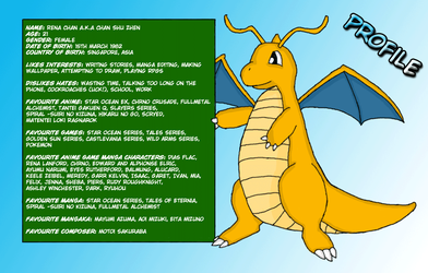 Dragonite deviantID by renachan
