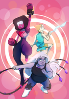 WE ARE THE CRYSTAL GEMS by ghostmoor