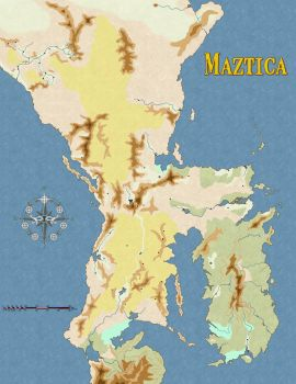 Maztica Forgotten Realms by Markustay