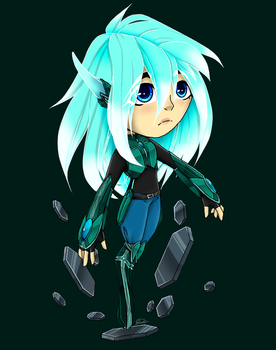 Robotics Girl (Doodle) by Mayfawn