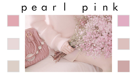 pearl pink ((swatches)) by MiliDirectionerJB