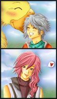 You and I are partners, Hope by Becca-at-the-ball