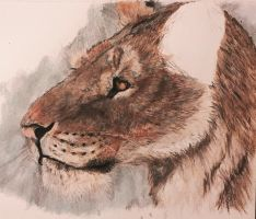 Homotherium by Mechafire1234