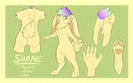 Shane [Reference Sheet] by 0oNeverFearo0
