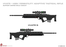 HVATR - Support Sniper Variant by Rxl-Noir