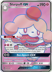 Slurpuff GX Full Art by Robin-Aisaga
