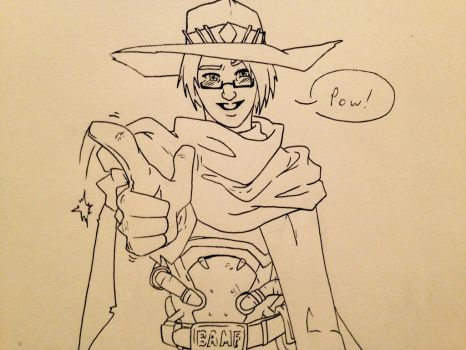 My Mains - Overwatch: Jesse McCree by OokamiWarrior1234
