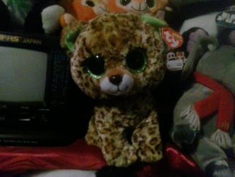 My TY Beanie Boo Speckles The Leopard Plush 194 by PoKeMoNosterfanZG