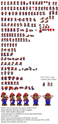 Mario.EXE Sprites (Updated) by WarchieUnited