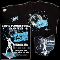 Celebration VI patch and OSWCC 15th Anniversery by siebo7