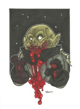 SONTARAN ZOMBIE VARIANT by leagueof1