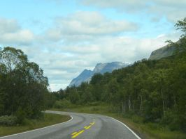 Mountains in Norway by Jurv