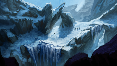 Journey through mountains by pawlack