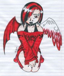 Drangd Angl Assassn of Hell by eccentric-angel