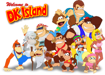 Welcome to DK Island by bot-chan