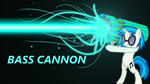 Bass Cannon MK2 Wallpaper by PlatypusStew