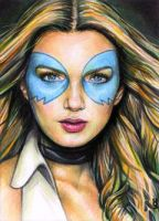 Dazzler Sketch Card 5 by veripwolf