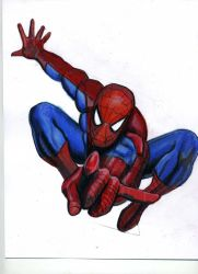 Spiderman Tutorial Image from kazanjianm(YouTube) by kazanjianm