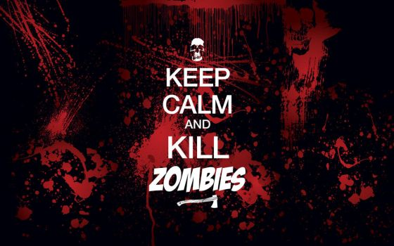 Kill Zombies Wallpaper by jistheking