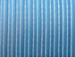 Ribbed Blue Silk Texture by FantasyStock