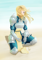 Conceptual Metal Armor by For3Art