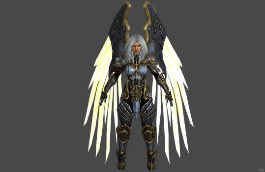 'Darksiders' Uriel W.I.P. by lezisell
