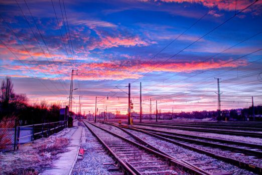 A Sunrise (HDR) by ano0nym
