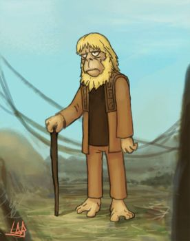 Doctor Zaius by LuisAlonso81