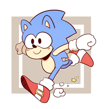 Toot Toot Sonic Warrior by DiachanX