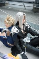 Dissidia: Calm moment by Abessinier