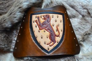 Heraldry Archery Arm Guard by CoreyChiev