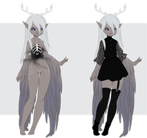 [CLOSED]VK: Aesthetic Adopt | Day 07 by SkyJynx